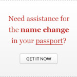Change the name in your passport