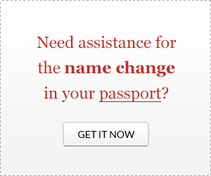 DS-5504 Application Form for Passport Name Change