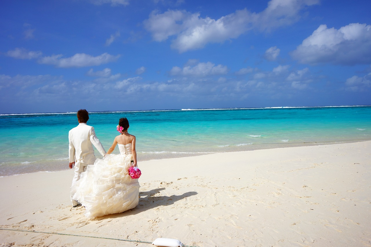 Get a valid passport and visa before your beach wedding abroad