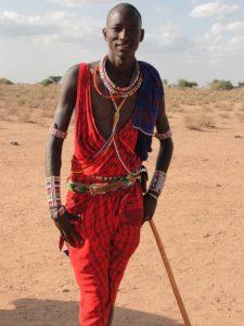 Maasai tribesman, Kenya