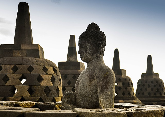 Indonesia's famous Borobudur Temple